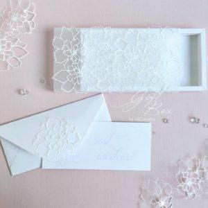 Gift box «Sky flowers»
