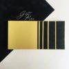 Gift box «Golden black»