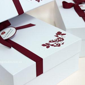Подарочный набор «Burgundy present»