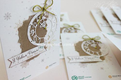 Корпоративные открытки MG01