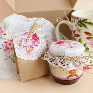 Подарочный набор «Ажурное чаепитие»