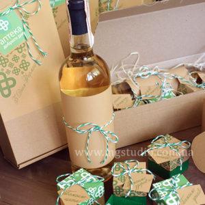 Подарочный набор «Вино с пожеланиями»