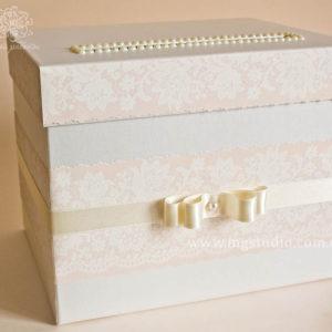 Сундучок для денег «Pearle lace»