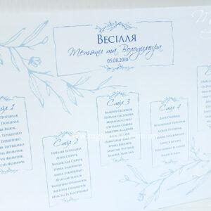 План рассадки гостей «Gato Brunches»