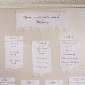 План рассадки гостей «Selin»