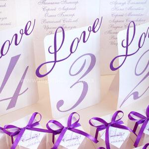 Номерки «Love»