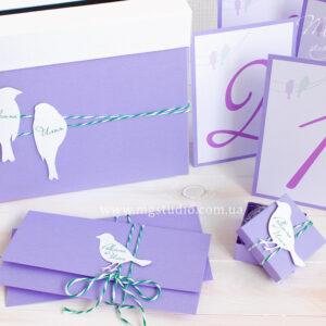 Номерки «Violet bird»