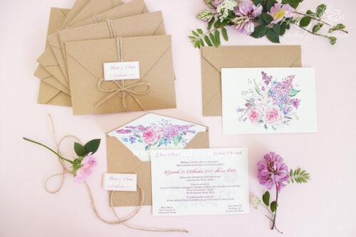 Пригласительные «Craft bloom»