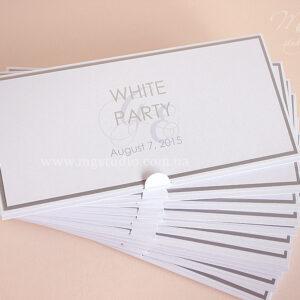 Пригласительный «White Party»